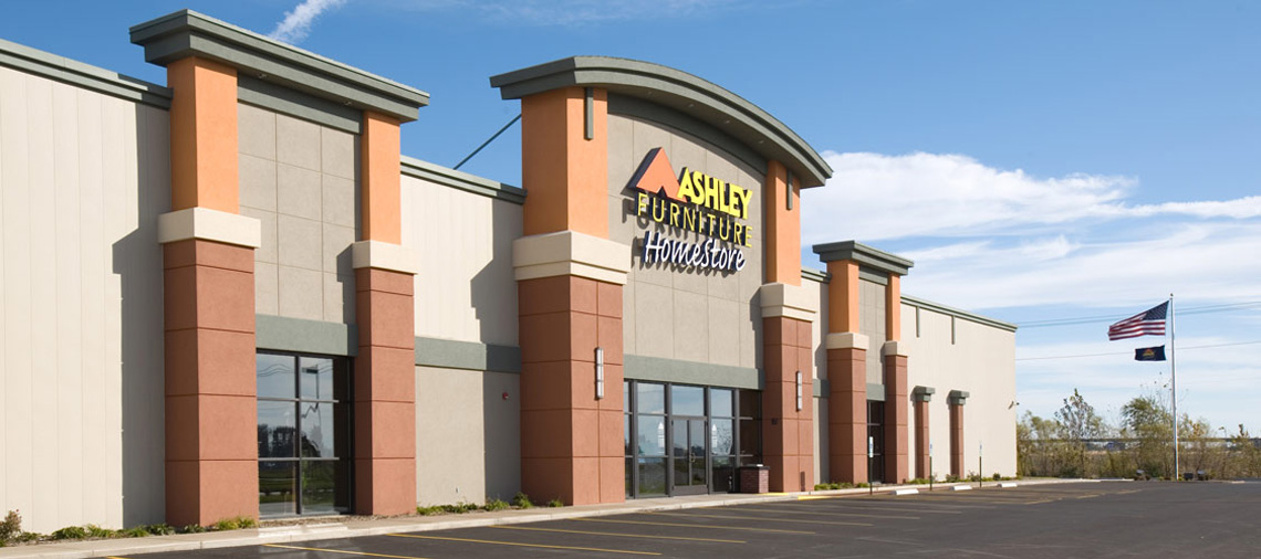 Ashley Furniture Home Store Architecture Services