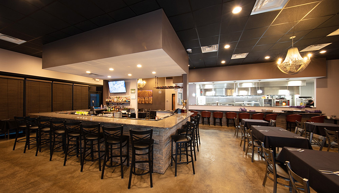 Evan Lloyd Architects provided restaurant architectural services for Joseph's Fine Cuisine in Springfield, Illinois.