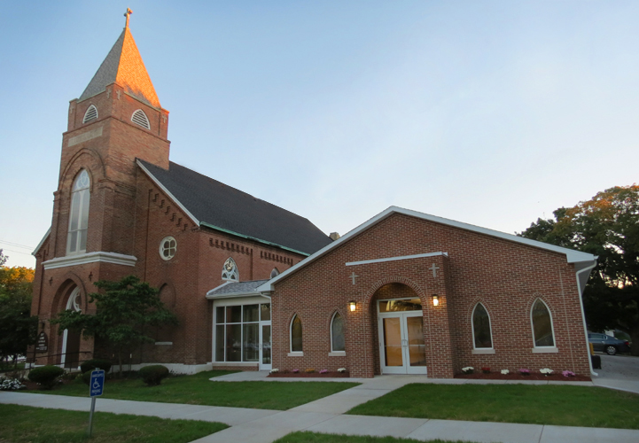 St luke 39 s parish religious architecture services - Garden state federal credit union ...