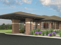 Evan Lloyd Architects - Macoupin Family Practice in Carlinville, Illinois - artist's rendering of the new medical clinic.
