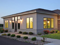 Evan Lloyd Architects - Macoupin Family Practice in Carlinville, Illinois - exterior view of the new medical clinic.