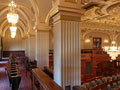 Evan Lloyd Architects - Illinois State Capitol in Springfield, Illinois - renovations of the gallery, alternative view.