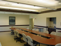 Evan Lloyd Architects - National Electrical Contractors Association (NECA) in Springfield, Illinois - renovated meeting room.