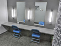 Evan Lloyd Architects architecture services - Prairie Capitol Convention Center (PCCC) in Springfield, Illinois - mirrors.
