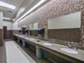 Evan Lloyd Architects architecture services - Prairie Capitol Convention Center (PCCC) in Springfield, Illinois - restroom sinks.