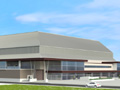 Evan Lloyd Architects architecture services - Prairie Capitol Convention Center (PCCC) in Springfield, Illinois - artist's rendering.