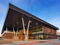 Evan Lloyd Architects architecture services - Prairie Capitol Convention Center (PCCC) in Springfield, Illinois - corner of the facility.