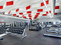 Evan Lloyd Architects - the gym at Woodword Athletic Facility at Blackburn College in Carlinville, Illinois.