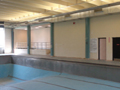 Evan Lloyd Architects - Woodword Athletic Facility at Blackburn College in Carlinville, Illinois - before photo of the gym.