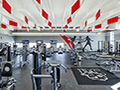 Evan Lloyd Architects - Woodword Athletic Facility at Blackburn College in Carlinville, Illinois - fitness area.