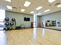 Evan Lloyd Architects - Woodword Athletic Facility at Blackburn College in Carlinville, Illinois - aerobic room.