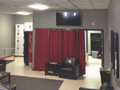 Evan Lloyd Architects - Woodword Athletic Facility at Blackburn College in Carlinville, Illinois - before photo of lobby.
