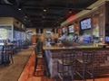 Evan Lloyd Architects - restaurant architecture services - Brickhouse Grill & Pub in Springfield, Illinois - bar in the renovated restaurant.