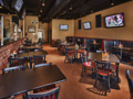 Evan Lloyd Architects - Brickhouse Grill & Pub in Springfield, Illinois - booth in the renovated restaurant - restaurant architecture services.