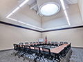 Evan Lloyd Architects completed office architectural services for Springfield Urban Redevelopment Project in Springfield, Illinois - conference room of the Centre at 501 - Office Architecture.