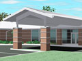Evan Lloyd Architects - new family practice clinics - Community Memorial Hospital in Staunton, Illinois - artist's rendering.