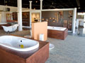 Evan Lloyd Architects - industrial architectural services - Connor Company in Springfield, Illinois - interior showroom baths.