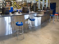 Evan Lloyd Architects - industrial architectural services - Connor Company in Springfield, Illinois - interior service counter.