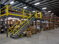 Evan Lloyd Architects - industrial architectural services - Connor Company in Springfield, Illinois - storage area.