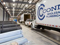 Evan Lloyd Architects - industrial architectural services - Connor Company in Springfield, Illinois - loading dock.
