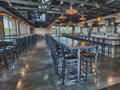 Evan Lloyd Architects - Engrained Brewery in Springfield, Illinois - restaurant architectural services - front seating.