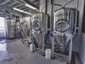 Evan Lloyd Architects - Engrained Brewery in Springfield, Illinois - restaurant architectural services - brewery tanks.