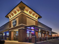Evan Lloyd Architects - restaurant architecture services - Fire & Ale, Sherman, Illinois - exterior view.