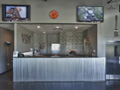 Evan Lloyd Architects - restaurant architecture services - Fire & Ale, Sherman, Illinois - front desk.
