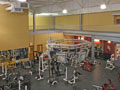 Evan Lloyd Architects - Fit Club South in Springfield, Illinois - gymnasium.
