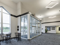 Evan Lloyd Architects - religious architectural services - Fresh Visions Community Church in Springfield, Illinois - lobby.