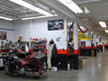 Evan Lloyd Architects - Halls Harley Davidson in Springfield, Illinois - repair/service area.