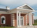 Evan Lloyd Architects - financial architectural services - Illini Bank in Sherman, Illinois - sideview.