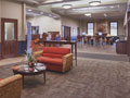 Evan Lloyd Architects - new bank facility design - Illini Bank in Sherman, Illinois - new lobby.