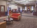 Evan Lloyd Architects - new bank facility design - Illini Bank in Sherman, Illinois - new lobby.