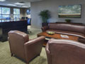 Evan Lloyd Architects - Community Banker's Association of Illinois & The Baker Group in Springfield, Illinois - waiting room.