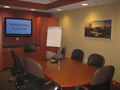 Evan Lloyd Architects - financial architectural services - Illinois State Police Federal Credit Union (ISPFCU) in Springfield, Illinois - conference room.