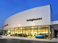 Evan Lloyd Architects - Isringhausen Imports - Porsche & Volvo Dealerships  in Springfield, Illinois - exterior.