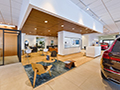 Evan Lloyd Architects - Isringhausen Imports - Porsche & Volvo Dealerships  in Springfield, Illinois - reception.