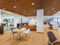 Evan Lloyd Architects - Isringhausen Imports - Porsche & Volvo Dealerships  in Springfield, Illinois - lounge area.