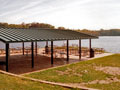 Evan Lloyd Architects - Jim Edgar Panther Creek Fish & Wildlife Area in Cass County, Illinois - park design services included a new patio.