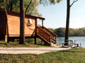 Evan Lloyd Architects - Jim Edgar Panther Creek Fish & Wildlife Area in Cass County, Illinois - park design services included new cabins.