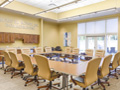 Evan Lloyd Architects financial architectural services - Legence Bank Corporate Office in Eldorado, Illinois - conference room.