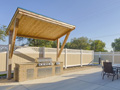 Evan Lloyd Architects - Legence Bank Corporate Office in Eldorado, Illinois - the new facility has an outdoor patio.