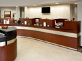 Evan Lloyd Architects - First National Bank of Litchfield in Litchfield, Illinois - lobby area.