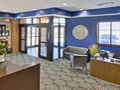 Evan Lloyd Architects - financial rchitectural services for Litchfield National Bank in Litchfield, Illinois - vestibule.