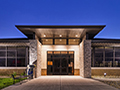 Evan Lloyd Architects - front of the NEW Litchfield Public Library in Litchfield, Illinois.