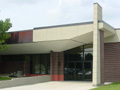 Evan Lloyd Architects - Lutheran School Association in Decatur, Illinois - exterior of the building addition.