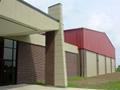 Evan Lloyd Architects - exterior of Lutheran School Association in Decatur, Illinois.