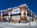 Evan Lloyd Architects - new building for The Market at Koke Mill in Springfield, Illinois - exterior.