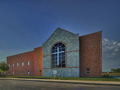 Evan Lloyd Architects - First Baptist Church of Maryville in Maryville, Illinois - religious architectural services - exterior.